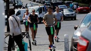 Uberden bisiklet ve elektrikli scooter hamlesi