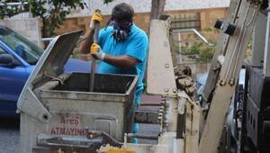 Kuşadasında 3 bin 710 ton çöp toplandı