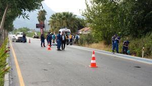 Muğlada otomobilin çarptığı elektrikli bisiklet sürücüsü öldü