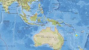 Pasifik adası Yeni Kaledonyada 7.1 büyüklüğünde deprem