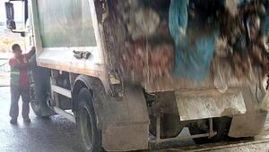 Kokmuş 1.5 ton tavuk eti imha edildi