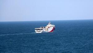 Milli Oruç Reis gemisi, Karadeniz'de kömür arıyor