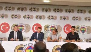 Fenerbahçede çifte imza töreni İlk sözler...