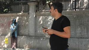 Adanada yüzü kapalı kadın paniği Yanına kimse yanaştırılmadı