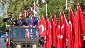 Antalyada Zafer Bayramı coşkusu