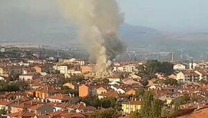 Yalvaç Belediyesinin sosyal tesisinde yangın