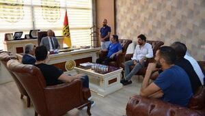 Vali Kabandan, Yeni Malatyaspora ziyaret