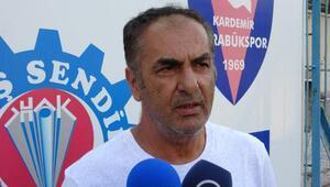 Kardemir Karabükspor Teknik Direktörü Yılmaz: Oyuncularımın lisansını çıkartsınlar