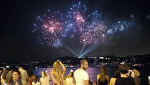 İstanbulda 30 Ağustos coşkusu