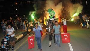 Alaşehirde festival zamanı