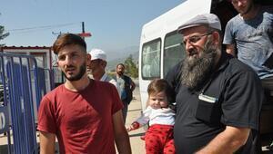İslahiyeden 660 sığınmacı daha ayrıldı