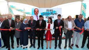 'Gölbaşı Şehir Parkı' düzenlenen törenle açıldı