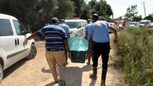 Sulama kanalında cesedi bulundu