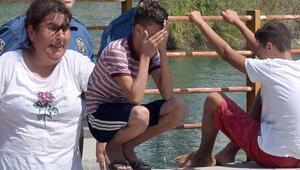 Sulama kanalında boğulan Atakanın annesinin feryadı yürek burktu