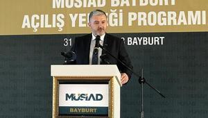 MÜSİAD Genel Başkanı Kaan: Elimizi taşın altına koymaya hazırız