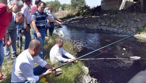 CHPli Aygundan Ergene Nehrinde oltalı eylem