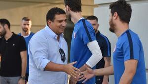 Olcan Adın ile Mevlüt Erdin Antalyasporda