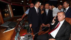 Erdoğan balık av sezonunu açtı