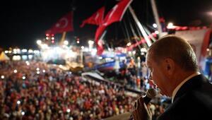 fotoğraflar-2 //Cumhurbaşkanı Erdoğan Kireçburnunda balık av sezonu açılışına katıldı