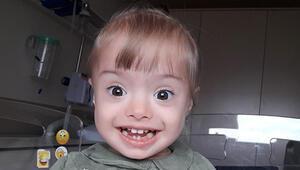Afra bebek yaşama tutunmak için ilik nakli olmayı bekliyor