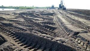 Caretta yuvalarına kum ve traktör tehdidi