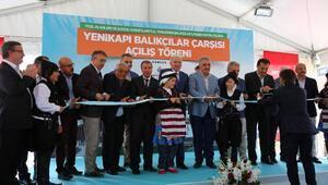 Yenilenen Kumkapı Balıkçılar Çarşısı'nın açılışı yapıldı
