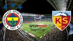 F.Bahçe hata istemiyor, Kayserispor 1 gol bile yemedi iddaada en çok...