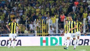 Fenerbahçe yine kayıp 5 gol, 1 kırmızı kart...
