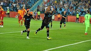 Galatasaray Trabzonda darmadağın.. İşte, maçın kritik anları