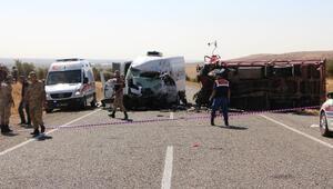 Gaziantep'te kaza: 6 ölü, çok sayıda yaralı (1)