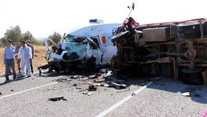 Gaziantep'te kaza: 7 ölü, çok sayıda yaralı (2)