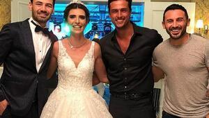 Survivor Merve Aydın evlendi.. İşte, düğünden kareler