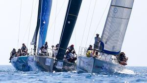Yarışın Sakız-Çeşme etabında finişi ilk geçen  Göztepe Yelken 1925 oldu