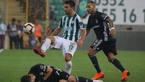 Beşiktaş, Bursada 2 puan bıraktı