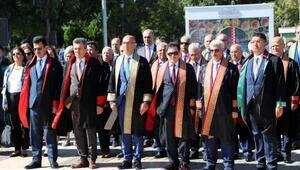 Gaziantepte adli yıl açılışı törenle yapıldı