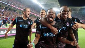 Trabzonspor evinde mutlu