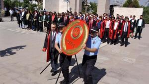 Osmaniyede adli yıl törenle başladı