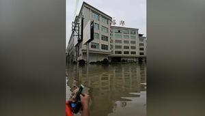 Çinde sel felaketi