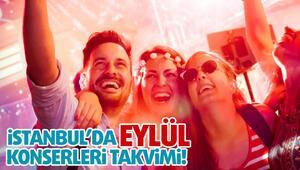 İstanbul'da Eylül Konserleri Takvimi