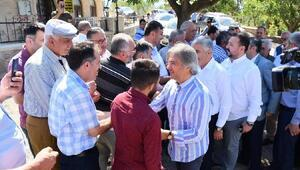 Başkan Demircan Şebinkarahisar'da ziyaretlerde bulundu