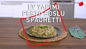 Ev Yapımı Pesto Soslu Spaghetti | Mucize Lezzetler