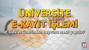 İnternet üzerinden E Kayıt ile üniversite kayıtları tamamlanıyor