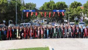 Muğlada yeni adli yıl törenle başladı