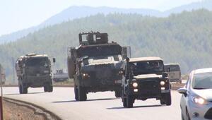 Askeri konvoy Hataydan geçti