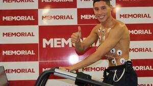 Barrada, sağlık kontrolünden geçti