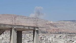 Son dakika Rusya İdlibi vurdu