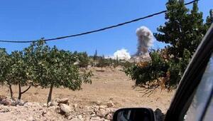 İdlibi vuran uçakların sesi, Hatayın sınır köylerinde duyuldu
