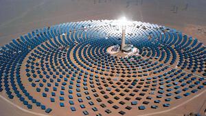 En temiz enerji güneş santrali