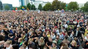 İşte biz Chemnitz'deyiz