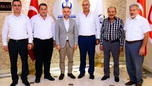 Şoför esnafından Başkan Ertürk'e ziyaret